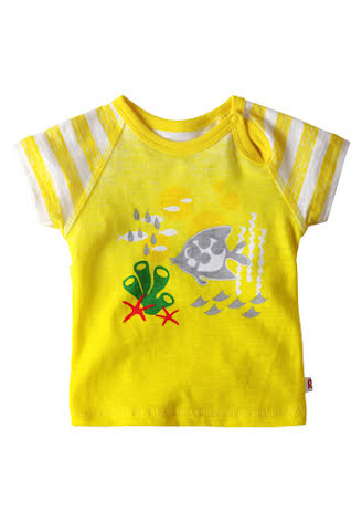 Reima Chilko 516113-2351 Yellow t-shirt