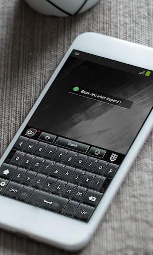 玩免費個人化APP|下載黑色豹纹Hēisè bào wén GO Keyboard app不用錢|硬是要APP
