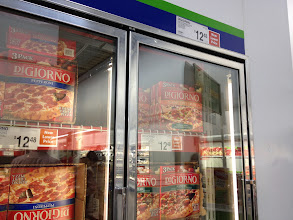 Photo: They just keep on going with DiGiorno pizzas here. Love that they carry this brand.