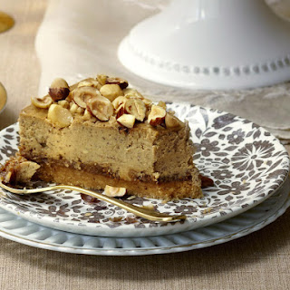 Espresso, Fig and Hazelnut Cheesecake