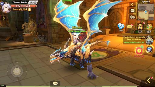 Blade & Wings: Future Fantasy 3D Anime MMORPG Game 1.8.8.1808021204.11 screenshots 1