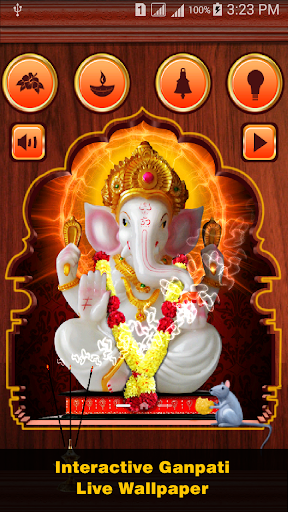 Ganpati Live Wallpaper Game