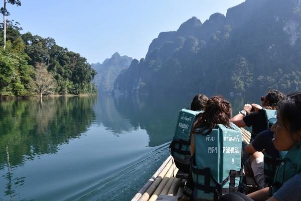Canoe on the Khao Sok river