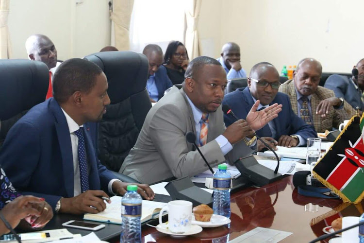 Image result for sonko on parliamentary committee