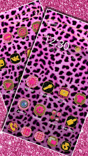 Pink Leopard Skin Themeud83dudc3e 1.1.3 screenshots 1