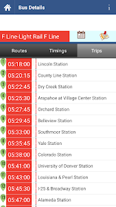 Denver Transit Info screenshot 3