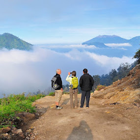 Raung Gunung View by Drajat Setiawan - Landscapes Mountains & Hills