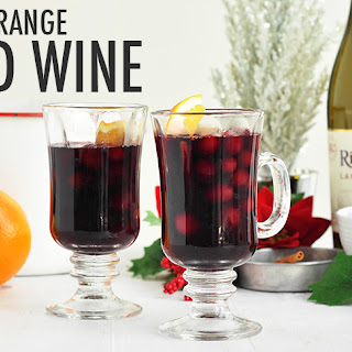 Cranberry Orange Mulled Wine