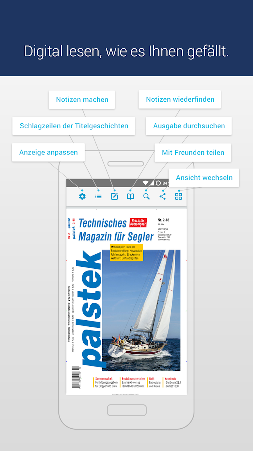 palstek · epaper- screenshot