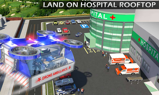 Heli Ambulance Rescue Team 3D Helicopter Simulator  screenshots 3
