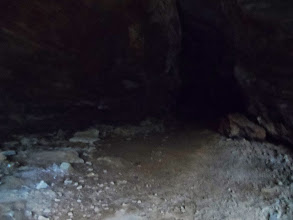 Photo: big open area in cave
