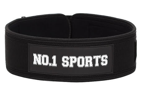 No.1 Sports Wod Belt Black - XS