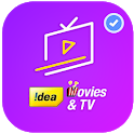 New idea live tv cricket live helper icon