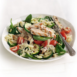 Greek-style Chicken With Risoni Salad