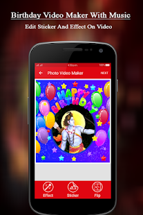 Birthday Video Maker With Music - náhled