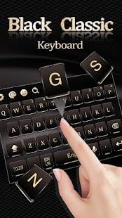 Black Classic Keyboard - náhled