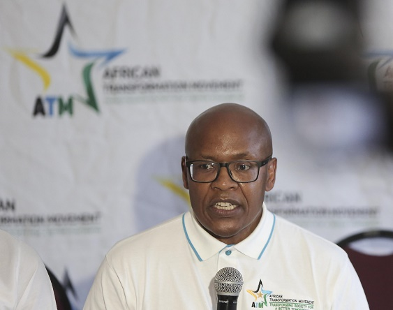 Mzwanele Manyi lambasted the ANC at a media conference to announce he had joined the African Transformation Movement, on January 9 2019 at the Joburg Theatre.