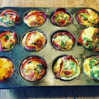 Mixed Veg Egg Muffins.