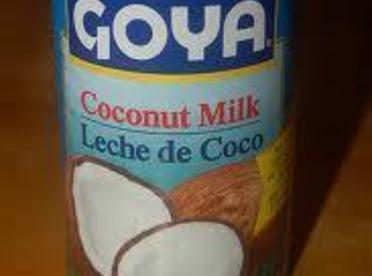 coconut milk,