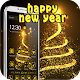 2017 Happy New Year gold theme (app)