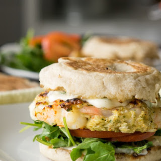 Tender Grilled Shrimp Burgers