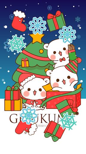 ゲスくま クリスマスverシェイクライブ壁紙7