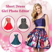 Short Dress Photo Suit : Girls Photo Editor
