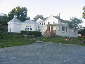 Photo: Yoga Ranch, Woodbourne, NY - Main house entrance