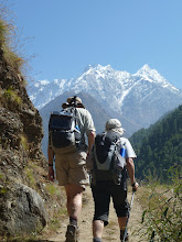 Photo: Excellent trail to Chhokung, with cystal clear air