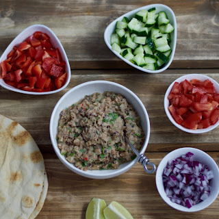 Black Eyed Pea Burrito