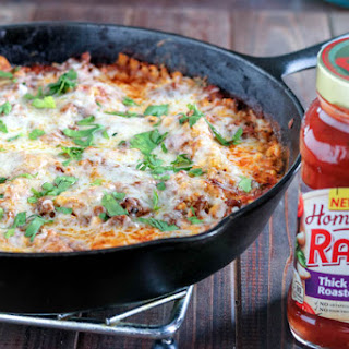 Skillet Lasagna with Homestyle Ragu