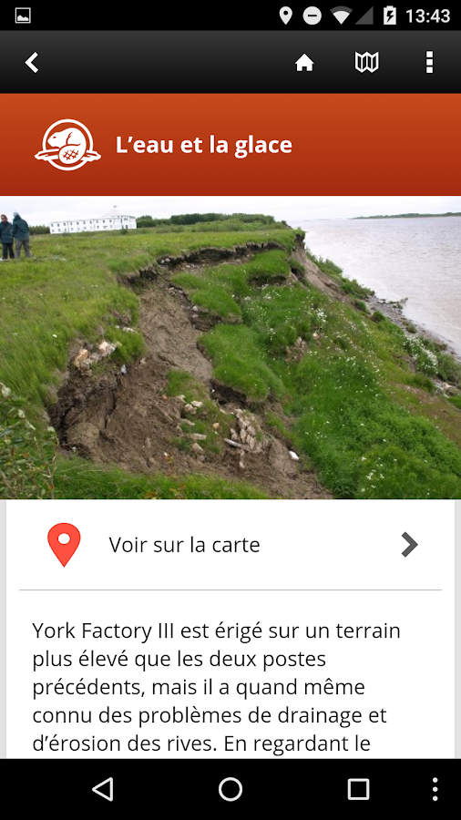 Visite guidée de York Factory- screenshot