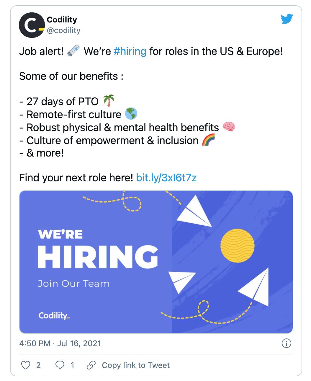 Job Alert Demand Generation