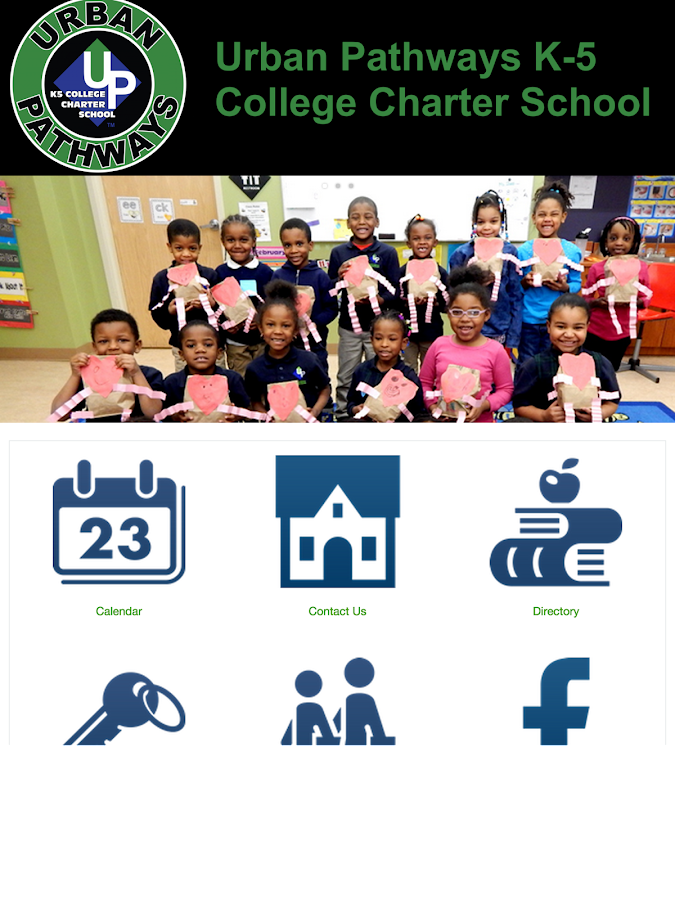 Urban Pathways Charter School- screenshot