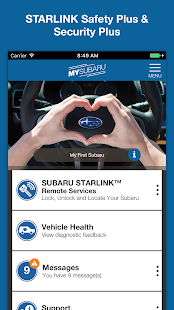 MySubaru- screenshot thumbnail