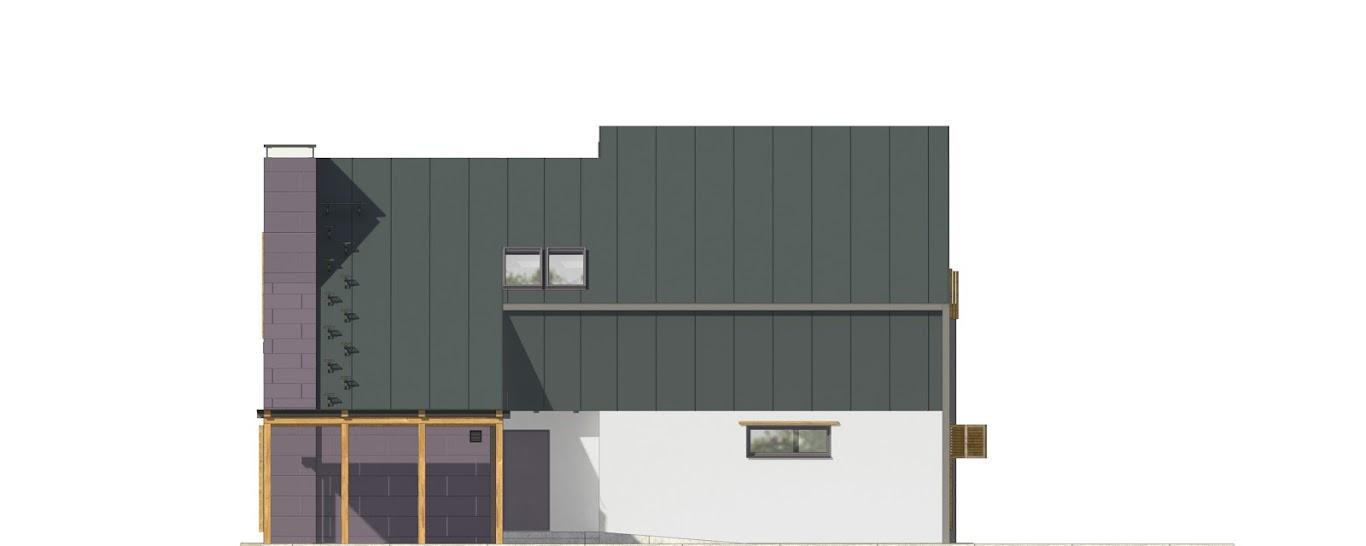 Projekt domu Z Kominem (TGW-553) - 152.0m²