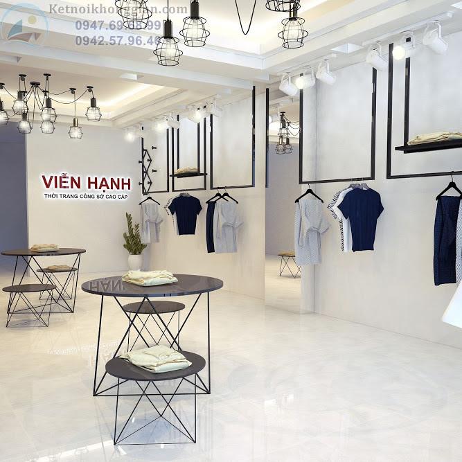 thiết kế shop thời trang công sở đẳng cấp, thoáng đẹp
