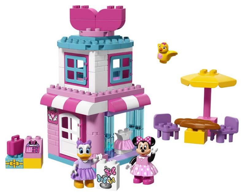 Contenido de Lego® 10844 Boutique de Minnie Mouse
