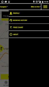MTAXI Bike Taxi screenshot 1