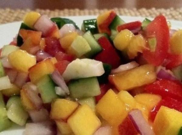 Peach Fennel Salsa Recipe