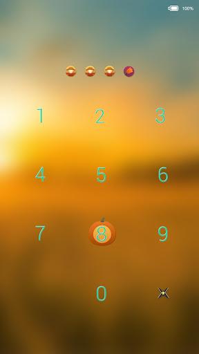玩個人化App 唯美秋天-闪电锁屏主题免費 APP試玩