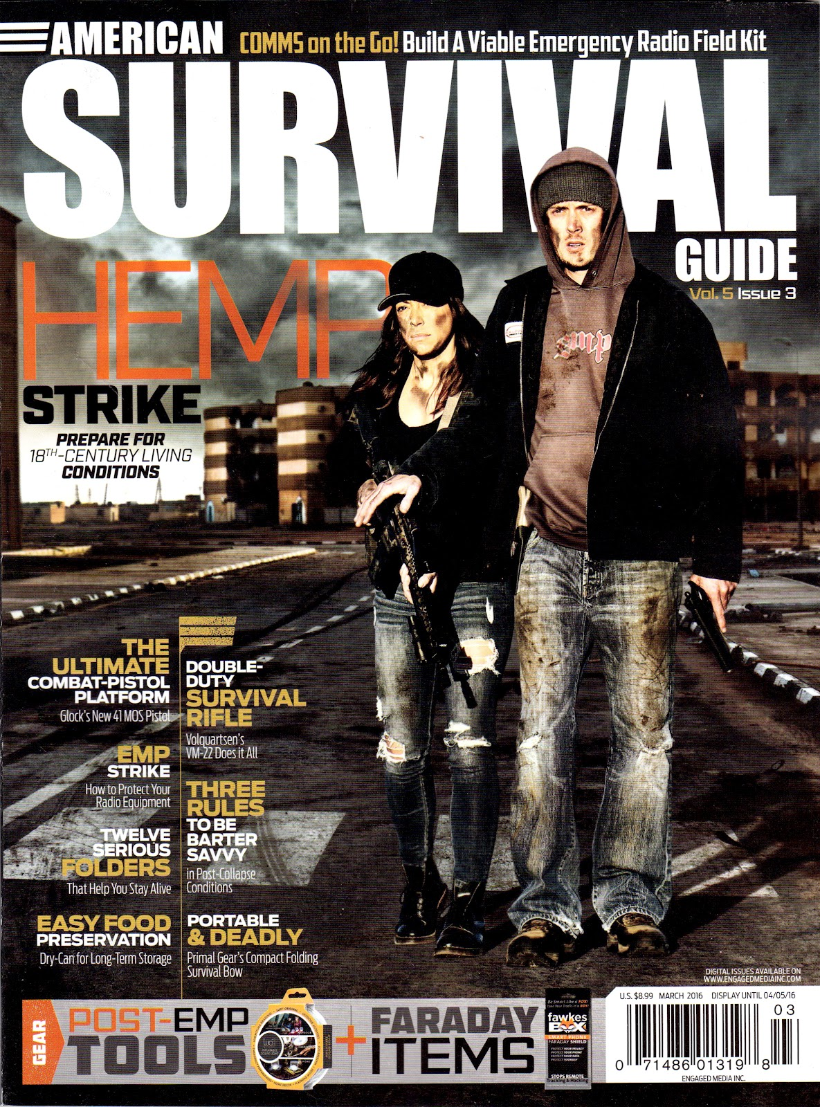 American Survival Guide March 2016 Cover
