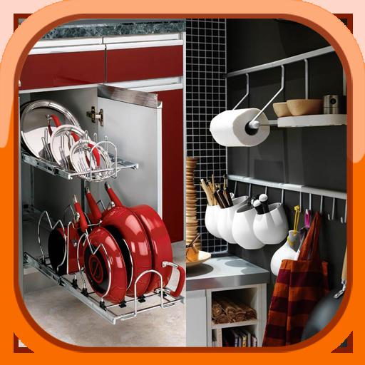 افكار ذكية لتخزين أدوات المطبخ