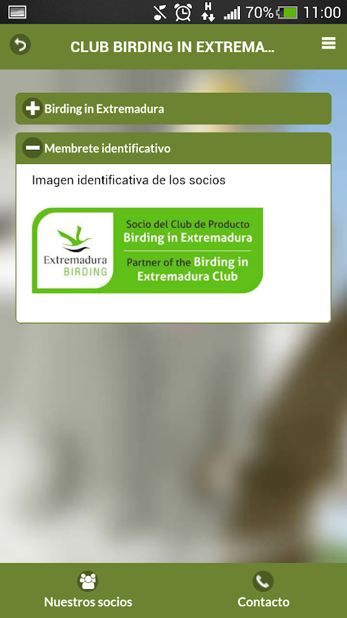 Birding in Extremadura- screenshot