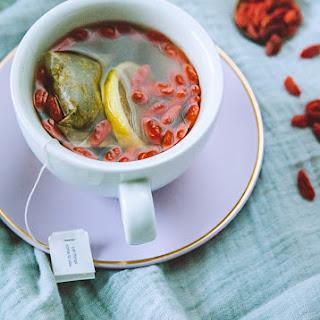Lemon goji Berry Morning Tea.