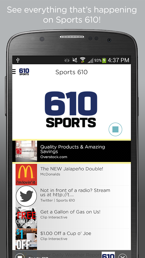 Sports 610- screenshot