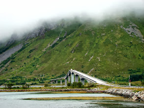 Photo: Most jakich wiele na Lofotach