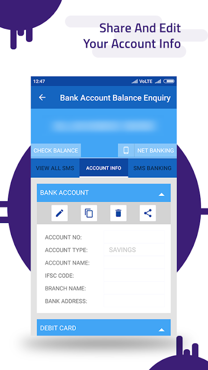 Bank Account Balance Enquiry – (Android Apps) — AppAgg
