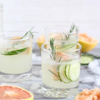 Grapefruit Cucumber Gin Cocktail Recipe