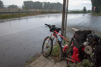 Photo: ... zanim mnie dogania to pokonuję jeszcze kilkanaście kilometrów.